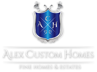 Alex Custom Homes, Fine Homes and Estates - Creating Enviroments That Will Inspire You!